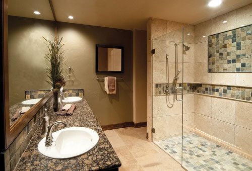 Glass Shower Door by Valley View Glass